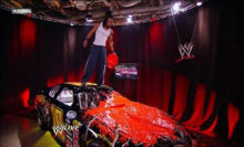 Headlies: Randy Orton's Race Car Takes Out Kofi Kingston