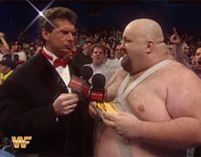 INDUCTION: Bastion Booger, Color Commentator – A Tale of Barfing, Marla Maples, and Vince McMahon's Insanity