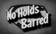 "Induction: Superman in ""No Holds Barred"" – It's a bird! It's a plane! It's a wrestling episode!"