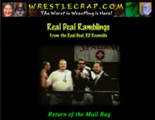 The Return of the WrestleCrap Mailbag…now in AUDIO FORM!