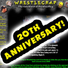 SUPER INDUCTION SPECIAL: WrestleCrap Madness – 20th Anniversary Tournament!