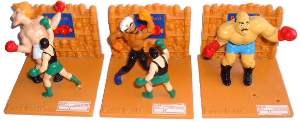 Mike Tyson's Punch-Out trophies