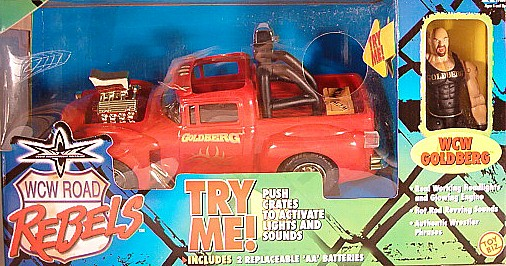 WCW Bill Goldberg Road Rebels truck
