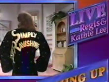 INDUCTION: Rick Rude on Regis & Kathie Lee – Featuring Ol' Rear Regis!
