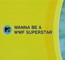 INDUCTION: MTV's I Wanna Be a WWF Superstar – Just Please Don't Wake Up Carson Daly While You're Doing It