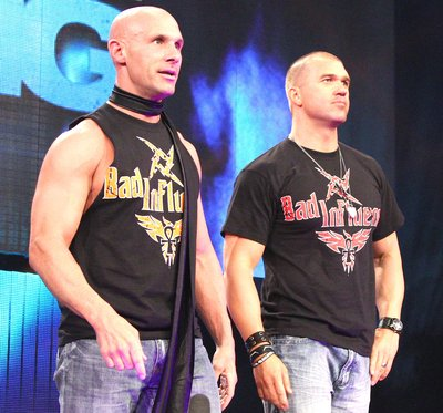 Headlies: Bad Influence Live Up To Their Name, Corrupt Innocent TNA Talent  - WrestleCrap - The Very Worst of Pro Wrestling!