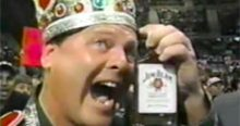 Induction: Jake Roberts vs. Jerry Lawler – Worse taste than Jim Beam *and* this heading, combined!