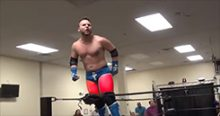 Headlies: Local Independent Wrestler Hospitalized After Slapping His Thighs Too Much