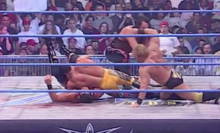 """Induction: The """"New York rules"""" WCW Thunder – No rules. No refs. No idea what's going on."""